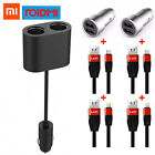 New Xiaomi ROIDMI 2 in 1 96W 8A Car Cigarette Lighter + Dual USB Port Car Charge