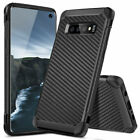 For Samsung Galaxy S9/S8/Plus/Note 8 Slim Carbon Fiber Shockproof TPU Armor Case