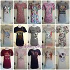 Ladies Disney Nightie Womens Nightshirt Girls Nighty Pjs Pyjamas Primark S To Xl
