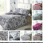 New Paisley Luxurious Duvet Cover Sets Reversible Bedding Sets All Size Pieridae