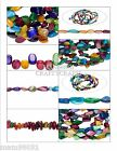 Beads MOTHER Of PEARL MOP ~ Multi Color ~ Various Sizes & Shapes