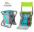 Wacces Multi-Purpose Backpack Chair/ Stool with Cooler Bag for Hiking Fishing