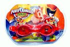 POWER RANGERS RED DINO CHARGE Super-Soft Watertight Seal Swim Goggles NWT $12