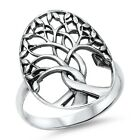 """925 Sterling Silver WOMEN'S """"TREE OF LIFE"""" BAND DESIGN RING"""
