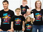 Super Girls Family Birthday T-shirts. Super Girls Customized Birthday Tops.