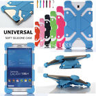 """For All 7~ 8"""" Inch Tablet PC Universal Adjustable Shockproof Silicone Case Cover"""