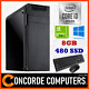 Watchers:1559AMD 200GE Dual Core | 8GB | 240GB SSD | Gaming Computer System Office Desktop PC