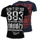 Yakuza Original Herren Blow It Out V02 T-Shirt Vintage Look TSB 10059 Männer