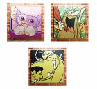 Funky Retro Canvases. 50 x 50cm Framed Canvas Print Poster Large Great Gift