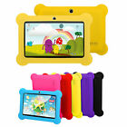 7'' Inch Quad Core Hd Tablet For Kids Android 4.4 Kitkat Dual Camera Bonus Gifts