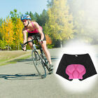 Women Bicycle Cycling Comfortable Underwear GEL 3D Padded Bike Short Pants Black