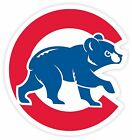 Chicago Fan Cubs Old Logo Vinyl Sticker Decal *SIZES* Large Cornhole Wall Bumper on Ebay