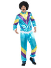 80's Height Of Fashion Shell Suit Scouser Tracksuit Costume Fancy Dress