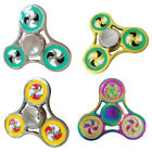 Finger Tri Spinning Toy Fidget Hand Spinner Gyro Autism Focus Stress Relief Gift