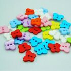 Resin Sewing Button Butterfly Buttons For Kids Scrapbooking Sewing Decorative