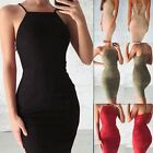 Women Backless Velvet Bodycon Strappy Dress Bodycon Party Mini Short Dresses