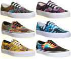 Vans Mens U Era Print Women Canvas Lace Up Trainers
