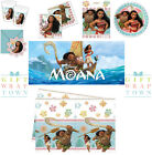 DISNEY MOANA DEMIGOD MAUI PARTY! PLATES, CUPS, NAPKINS, BANNER, PARTYBAGS MORE!