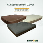 Replacement Cover for Big Paws HDD04 15CM Height Extra Large Memory Foam Dog Bed