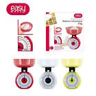 Balance Kitchen Mechanical Round Weighs up to 5Kg Bowl Removable 1,2L Practice