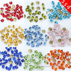 10/100gross ss4 1.5mm color point back crystal glass rhinestones Nail Art beads