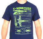 STAR WARS X-WING SCHEMATIC T-SHIRT NEW!! (2XL-4XL) BIG LARGER SIZES!!! $23.0 USD