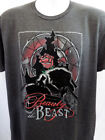 DISNEY BEAUTY AND THE BEAST T SHIRT S 3XL SILHOUETTE POSTER T SHIRT NEW