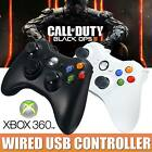 New Wired Xbox 360 Controller USB GamePad For Microsoft Windows Laptop PC