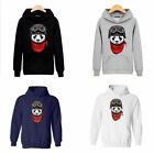New Panda Men Warm Winter Sweatshirts Hooded Coat Jacket Sweater Hoodie Pullover