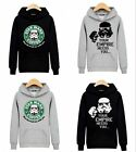 Men Sweatshirts Hooded Coat Jacket Sweater Hoodies Outwear Pullover Star Wars