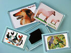 FRIDGE MAGNET Pigs, Horses, Goats, Dogs, Cats, Rabbits, Guinea Pigs, Ferrets,etc