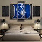 5 Panel Duke Blue Devils Painting HD Printed Canvas Wall Art Picture Home Décor