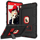 Hybrid Rubber Hard Kickstand Case Cover For iPad 9.7 Inch 2017 / 5th Gen / A1823