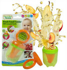 Fresh Food Feeder Baby BPA Free Teether Soother Easy Grip Handle Feeding