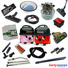 Spares Accessories for Henry Hetty Bags Tools Hose Filter Cable Motor Switch