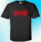 New Aborted Death Metal Band Logo Men's Black T-Shirt Size S to 3XL