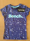 Girl's BENCH Crew Neck T-Shirt - Deep Cobalt - 7-8, 13-14 years - NEW with tag