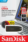 SanDisk 16GB 32GB 64GB 128GB 256GB USB 3 Ultra Flash Drive Back Up Memory Stick