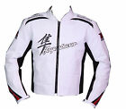 Suzuki Hayabusa Motorcycle Leather Jacket Sports Motorbike Riding MotoGp Jacket