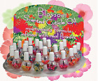 Blue Cross Blossom Cuticle Oil Scented W/ Real Flower Variations U Pick .5oz15mL