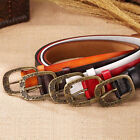 Classic beauty women gift lady Genuine real leather Cowhide Pin Buckle Belt