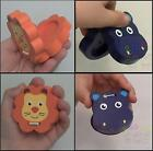 Chunky Wooden Animal Castanets Fun Flapper Musical Percussion Toy HIPPO or LION
