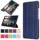 Folding Flip Magnetic PU Leather Stand Case Cover For Lenovo TAB Series Tablet