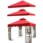New Red10'x10' Outdoor Garden Patio Gazebo Cover Canopy Top Replacement Shade