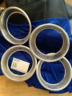 Triumph TR6 wheel trims set of 4, used.