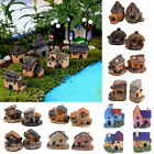 Mini Fairy Garden Miniature House Fence Craft Diy Micro Landscape Decor Gift