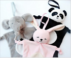 Baby Kids 28*28CM Cute Animals Security Soft Blanket Cloth Comforter Stuffed Toy