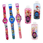 Paw Patrol Kids Watch Children Digital Nickelodeon Disney Princess Gift Box Set