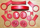 Genuine Original Beats By Dre Solohd Solo Hd Part Parts Red Drenched Red