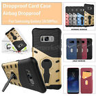 Shockproof Flip Case Cover For Samsung galaxy s8/s8 plus Airbag Dropproof pocket